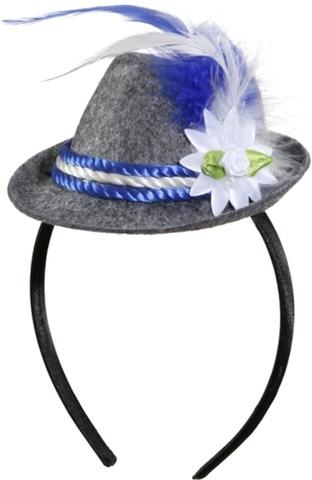 Cappello bavarese mini su cerchietto