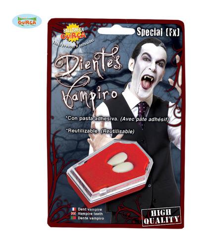 Accessorio halloween denti vampiro