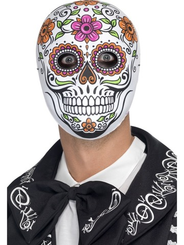 Maschera Halloween Teschio Messicano