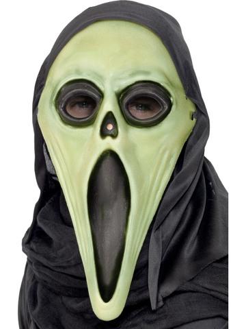 Maschera Halloween Scream Fluorescente