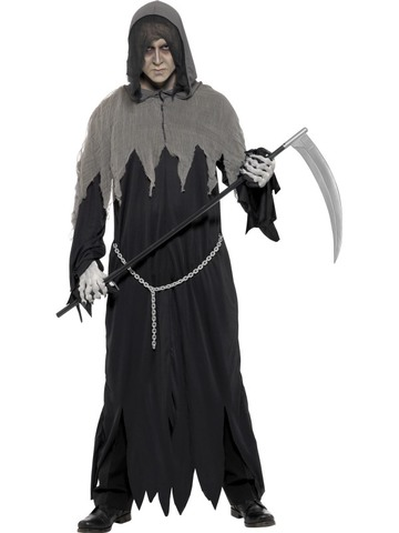 Costume halloween scream morte