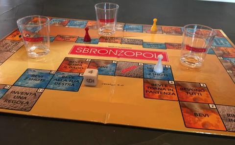 Sbronzopoli gioco da tavolo