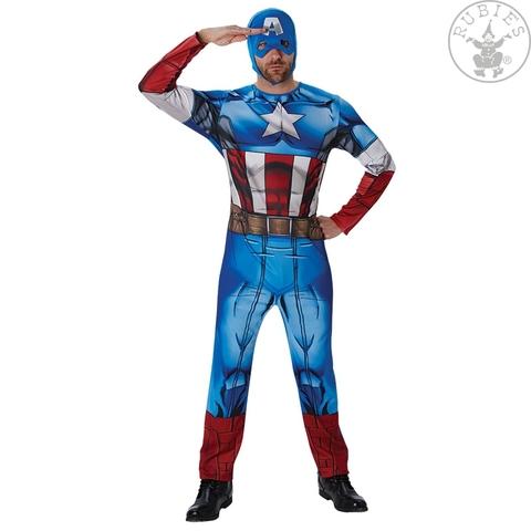Costume di carnevale da captain america
