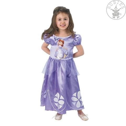 Costume di carnevale da principessa sofia bambina