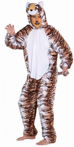 Costume di carnevale da tigre in peluche
