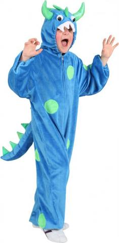 Costume di carnevale da monster in peluche