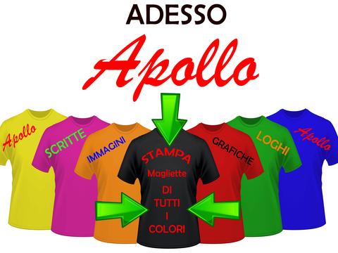 Stampa t-shirt e magliette colorate