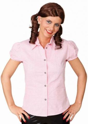 Camicia Bavarese Da Donna Rosa