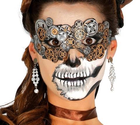 Accessorio halloween maschera steampunk