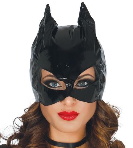 Accessorio halloween maschera da gatta catwoman