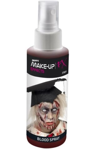 Trucco halloween sangue spray