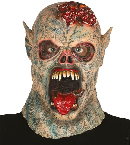 Accessorio halloween maschera alieno zombie
