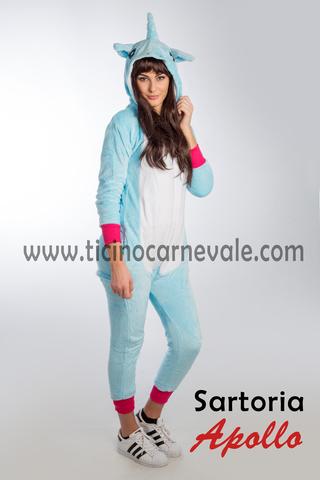 Costume Di Carnevale Da Unicorno In Peluche