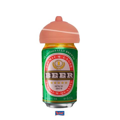 Mammella per lattina di birra