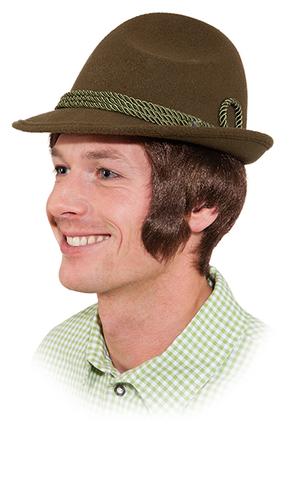 Cappello bavarese verde