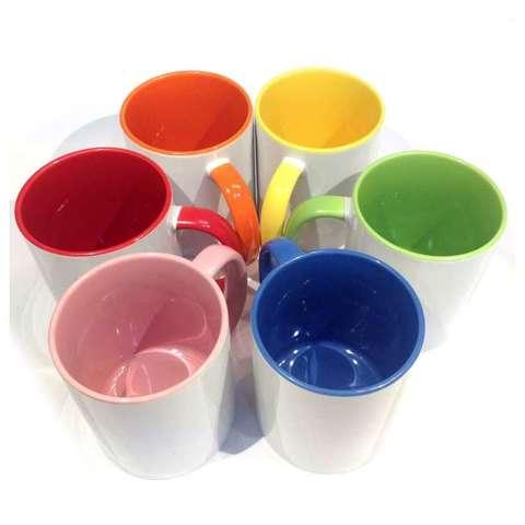 Stampa tazza personalizzata colorata