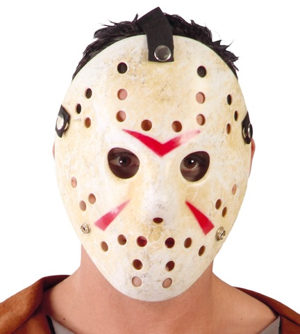 Maschera di jason con buchi