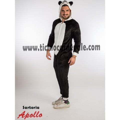 Costume Di Carnevale Da Panda A Tuta