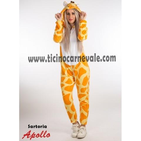 Costume Di Carnevale Da Giraffa A Tuta