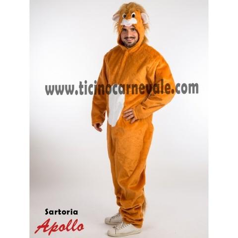 Costume Di Carnevale Da Leone A Tuta