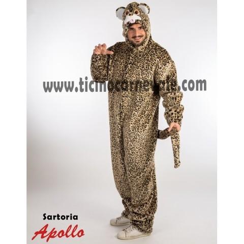 Costume Di Carnevale Da Leopardo A Tuta