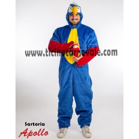 Costume Di Carnevale Da Pappagallo A Tuta