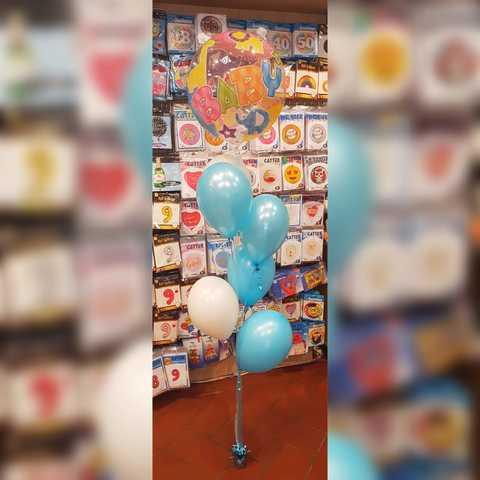 Composizioni di palloncini per nascita