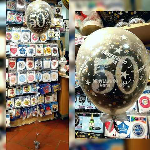 Palloncini Per Compleanno 50 Anni In 3d