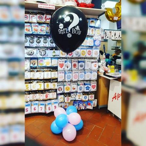 Decorazione di palloncini per babyshower