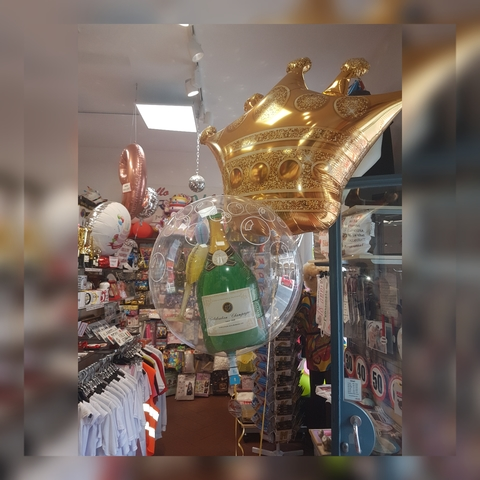 Decorazione Di Palloncini Bubble A Bolla Con Confetti
