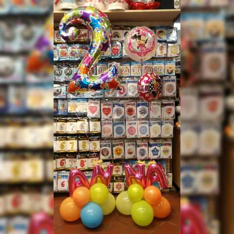 Decorazione Di Palloncini Per Bambina Di 2 Anni