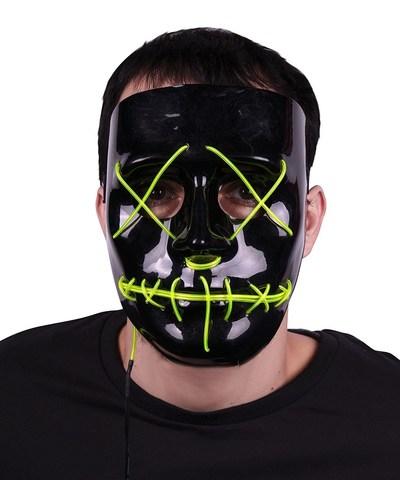 Maschera led la purga