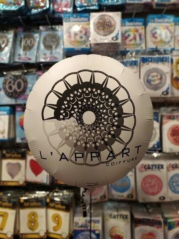 Fotopalloncino brandizzato con logo