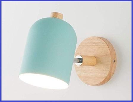 Lampada applique blu