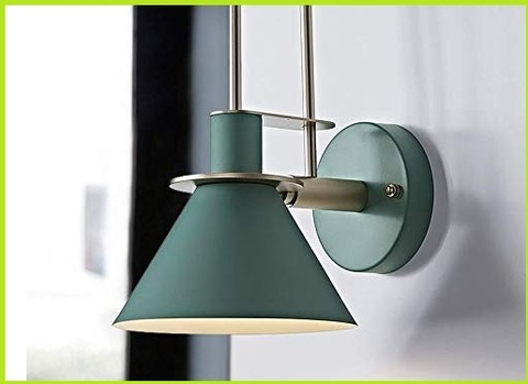 Lampada verde applique