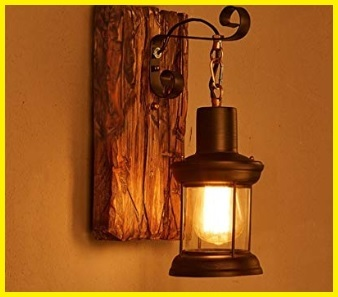 Lampada vintage da parete