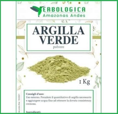 Argilla Verde Antinfiammatoria