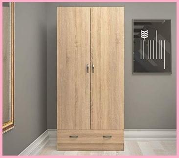 Armadio economico in legno con cassetto