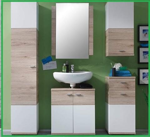 Armadi con specchi per il bagno
