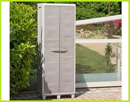 Armadio da giardino ed esterno portascope