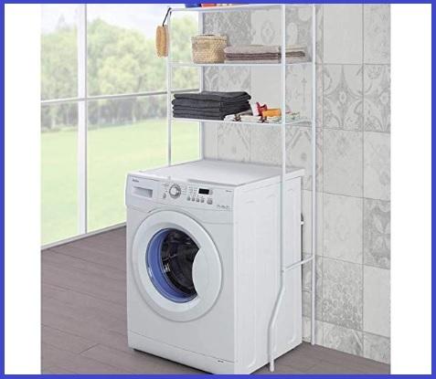 Mobiletto bagno salvaspazio lavatrice