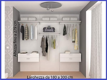 Cabina armadio accessori