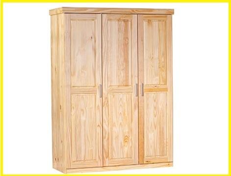 Armadio legno grezzo