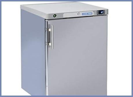 Armadio frigo bar acciaio