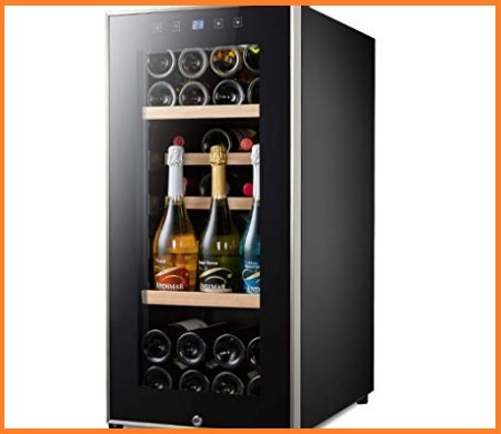 Armadio frigo per vino moderno