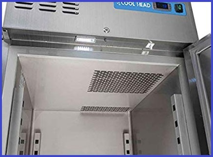 Armadio frigorifero inox professionale
