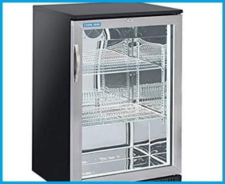 Armadio frigorifero vetrina trasparente