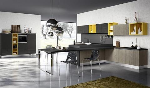 Migliori Marche Cucine. Cucine Moderne Con Piano Cottura Filotop ...