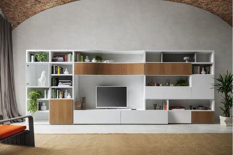 Arredare un soggiorno su misura stile moderno