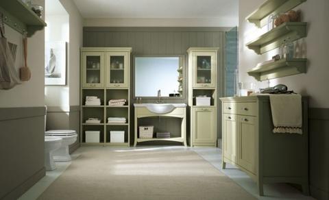 Mobili per il bagno legno massello
